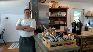 Joel Viehland, the owner and one of the chefs at The Pine Leaf Cafe on Route 202, serves up dishes made almost entirely from locally sourced ingredients. As such, the menu is permanently temporary. Jack Coraggio
