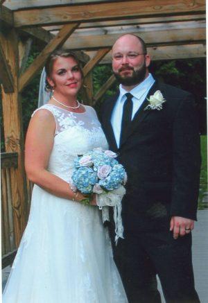 Wedding, Monica Spencer and Matt Janus.