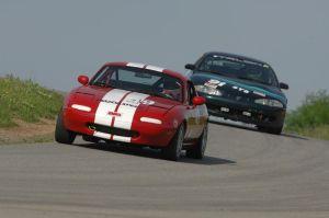 Paul Broomhead racing his car. The Thomaston physician died Saturday. Tom Minuto