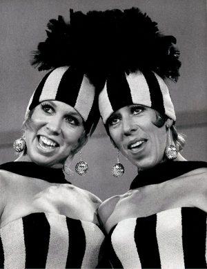 Vicki Lawrence and Carol Burnett.Credit: The Brokaw Co.