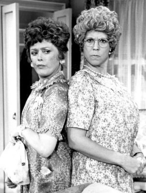 Rue Mcclanahan and Vicki Lawrence. Credit: The Brokaw Co.