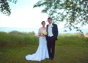 Wedding, Elizabeth Horcher and Kevin Siegler.