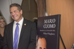 Andrew Cuomo at the book release party for William O'Shaughnessy's 'Mario Cuomo.' Contributed