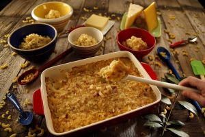 Not much beats home-made mac and cheese, especially when your kids help out. (Kirk McKoy/Los Angeles Times/TNS)