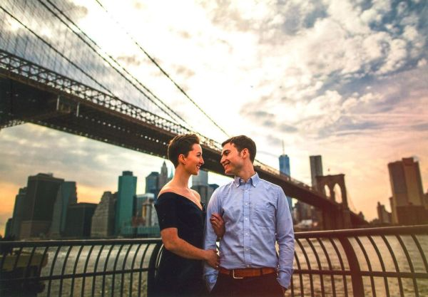 Engagement, Kate Zasada and Brett Langdon.
