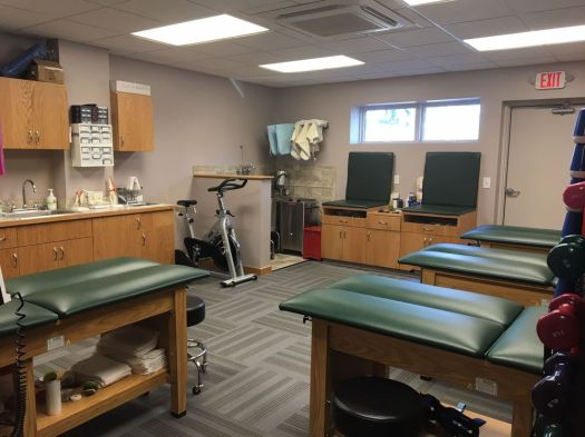 The Monteiro Family Sports Medicine Facility. The renovations and state of the art equipment were paid for by Frank Monteiro. HARRISON CONNERY / REPUBLICAN-AMERICAN