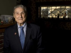 Winsted native Theodore R. Marolda, 94, was part of the Marines' first amphibian tank battalion during World War II. He fought on Guadalcanal, and later made landings in New Guinea and Cape Gloucester. Jim Shannon Republican-American