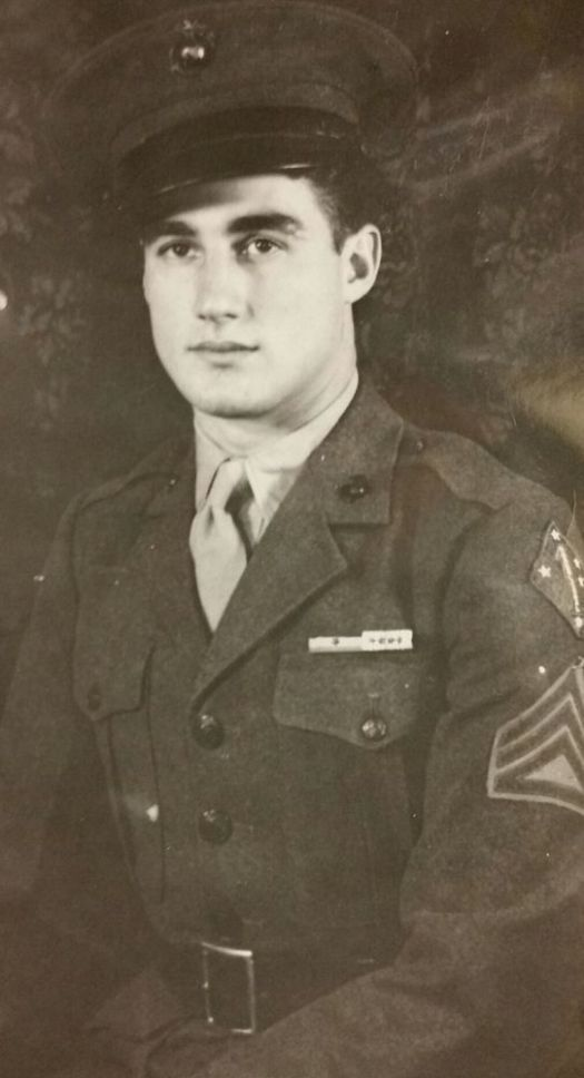 Theodore R. Marolda of Winsted was part of the Marines' first amphibian tank battalion during World War II. The tanks transported troops, weapons and ammunition, and supplies from ship to shore. Contributed