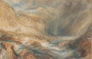 [6]  J. M. W. Turner (1775–1851), The Pass of St. Gotthard, near Faido, 1843, watercolor over graphite, Thaw Collection, The Morgan Library & Museum, 2006.52. Photography by Steven H. Crossot, 2014.
