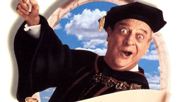 Publicity photo from Back to School starring Rodney Dangerfield.