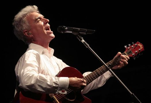 Associated Press David Byrne, frontman for the legendary Talking Heads, comes to the Palace Theatre in Waterbury on March 9.