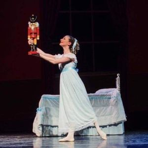 "Livia Sarnelli of Naugatuck will dance the role of Clara on Saturday at 5:30 p.m. and Gabrielle Harris of Middlebury will dance it Sunday at 2 p.m. as the Middlebury Dance Company performs ""The Nutcracker"" at Naugatuck Valley Community College in Waterbury.  Contributed"
