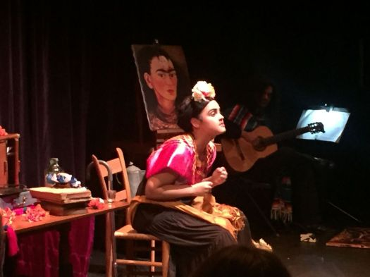 Yari Castro, a graduate of Waterbury Arts Magnet School, stars in a new play about Frida Kahlo.