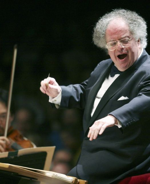FILE - In this July 7, 2006 file photo, Boston Symphony Orchestra music director James Levine conducts the symphony on its opening night performance at Tanglewood in Lenox., Mass. Longtime Metropolitan Opera conductor Levine has denied allegations of sexual misconduct and says he wants to resume his work