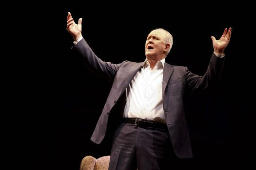 John Lithgow stars in 'John Lithgow: Stories By Heart' at Broadway's American Airlines Theatre.  Joan Marcus