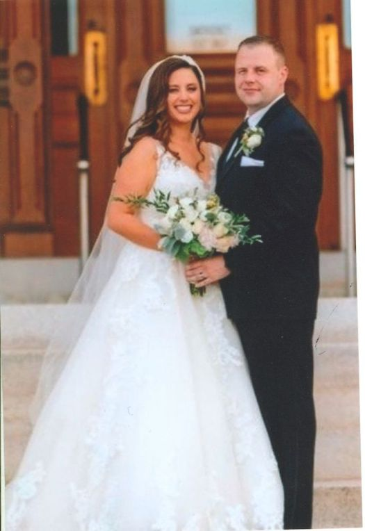 Mr. and Mrs. Steven Cunningham. Contributed