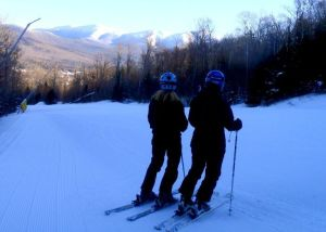 Bretton Woods on January 10 had perfect snow and a magnificent view. (Tim Jones/EasternSlopes.com photo)