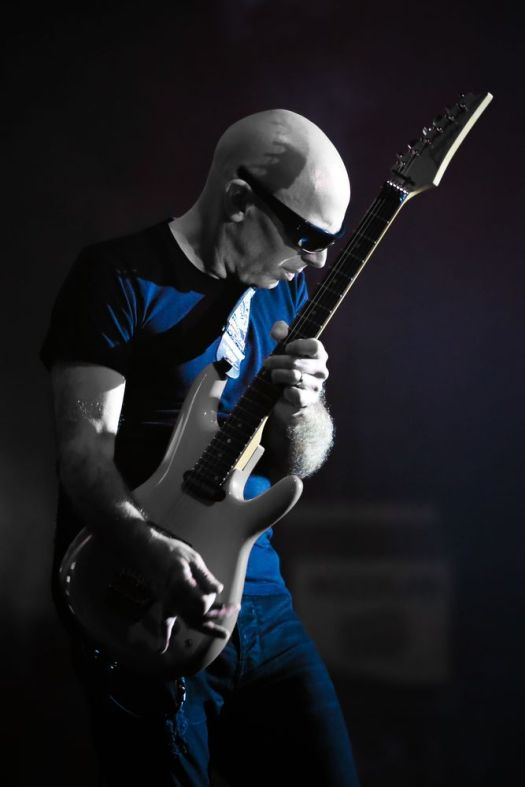 Contributed photos G3 2018 with, from left, Joe Satriani, John Petrucci and Phil Collen, will be at the Toyota Oakdale Theatre in Wallingford at 7 p.m. Thursday.