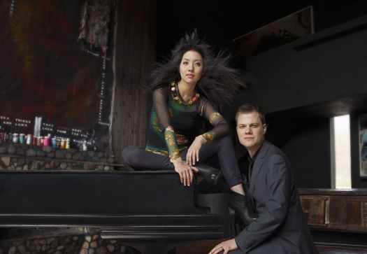 Contributed  Emily Joy Roe and Greg Anderson, the piano duo of Anderson and Roe, will perform this weekend with the Hartford Symphony Orchestra at The Bushnell's Belding Theater in Hartford.