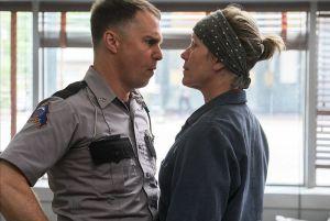 Sam Rockwell an Frances McDormand are both up for Oscars for 'Three Billboards Outside of Ebbing, Missouri. Merrick Morton