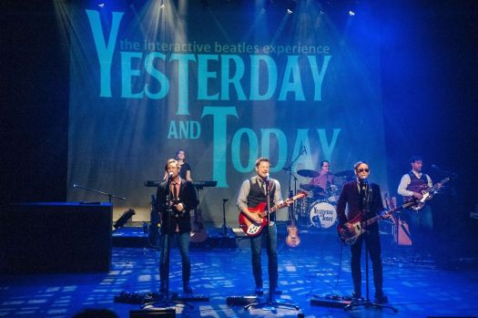 """""""Yesterday and Today: The Interactive Beatles Experience"""" comes to Seven Angels Theatre in Waterbury on Saturday. Contributed"""