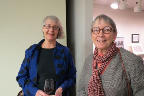 Sybil Perry and Susan Fox, both of Cornwall.