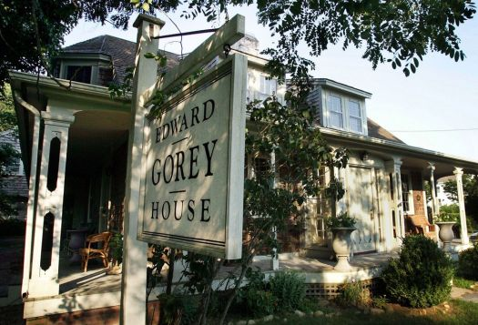 The Edward Gorey House in Yarmouth, Mass. Associated Press