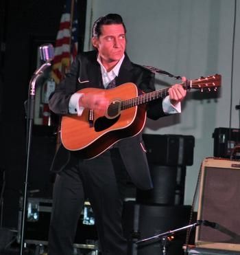 Contributed Shawn Barker appears as Johnny Cash in 'One Night in Memphis.'