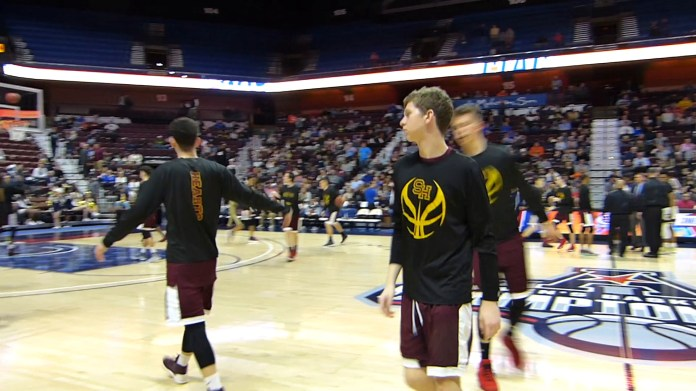 Hearts fall to Notre Dame in Division I final