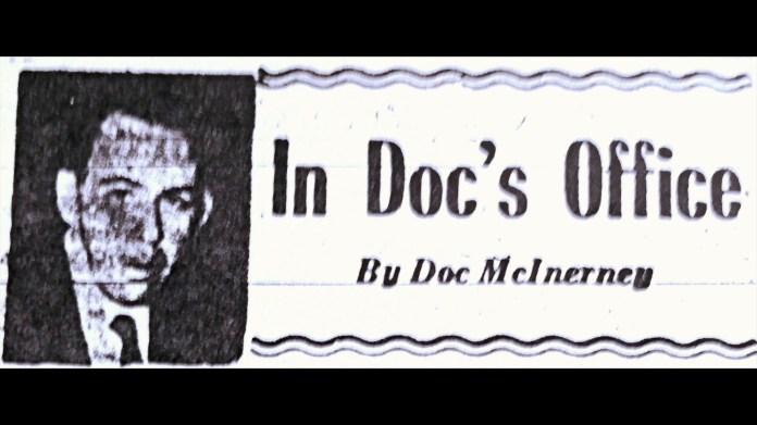 Doc McInerney Award 2018 - Will Guglielmo