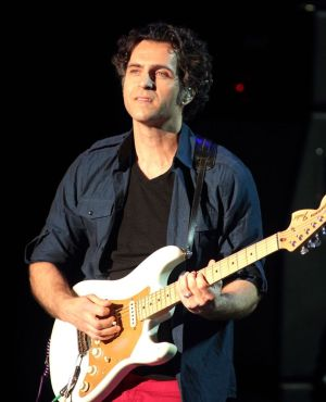 Dweezil Zappa performs in concert during the Experience Hendrix 2014 Tour at Harrahís Resort on Saturday, March 22, 2014, in Atlantic City, N.J. (Photo by Owen Sweeney/Invision/AP)
