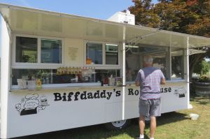 Biffdaddy's Roadhouse food truck is now open for business on Railroad Street in Canaan. Ruth Epstein Republican-American