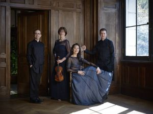The Brentano Quartet, appearing with Dawn Upshaw Since its inception in 1992, the Brentano String Quartet (Mark Steinberg, violin – Serena Canin, violin – Misha Amory, viola – Nina Lee, cello) has appeared throughout the world to popular and critical acclaim. Within a few years of its formation, the Quartet garnered the first Cleveland Quartet Award and the Naumburg Chamber Music Award; and in 1996 the Chamber Music Society of Lincoln Center invited them to be the inaugural members of Chamber Music Society Two, a program which was to become a coveted distinction for chamber groups and individuals.