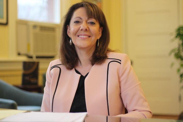 Susan Lubomski, Torrington superintendent. Republican-American archive