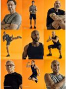 The page featuring Mark Garrison in Men's Health. He's in the middle of the top row.