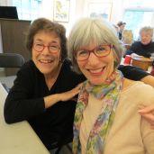 Jody Davies, left, and Barbara Zucker-Pinchoff