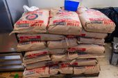WATERBURY, CT. 12 July 2019-071219 - A pallet of flour, the staple ingredient to make the dough for the popular fried dough, waits to be used, during the 81st annual Italian Feast of Our Lady of Mount Carmel at Our Lady at Mount Carmel in Waterbury on Friday. Bill Shettle Republican-American