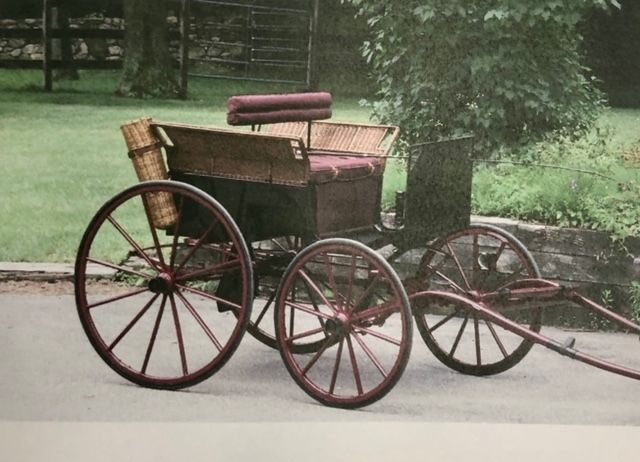 WOODBURY -- This antique horse-drawn carriage was donated to the agri-science department at Nonnewaug High School.Steve BighamRepublican-American