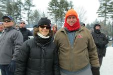 Pam Sangster of Sheffield, Mass., and Dave Stillwagon of Harrisburg, Pa.