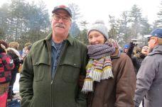 Helen Bramsfield of Weston and Peter Montgomery of Warren