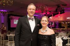 Gala co-chairs David and Melissa Martin