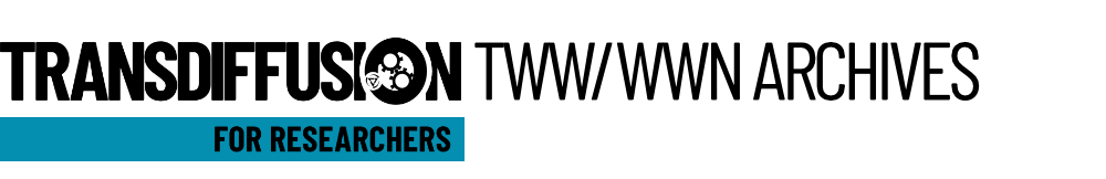 TWW and WWN archives | Transdiffusion for researchers