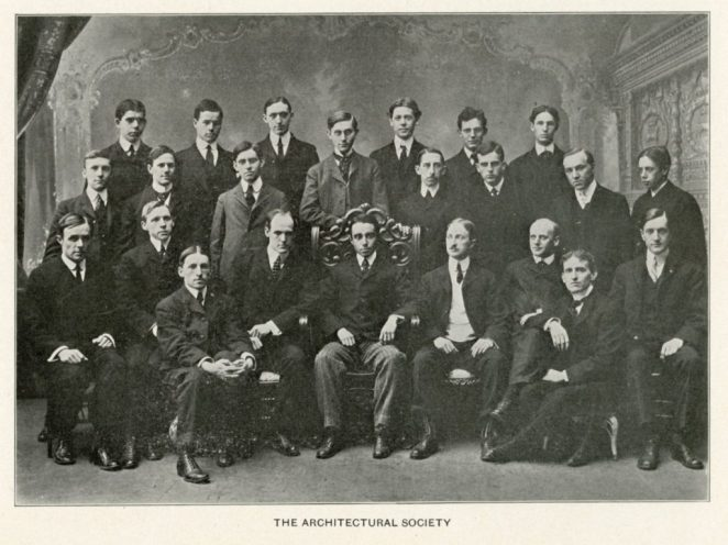 Architectural Society of the University of Pennsylvania, 1902