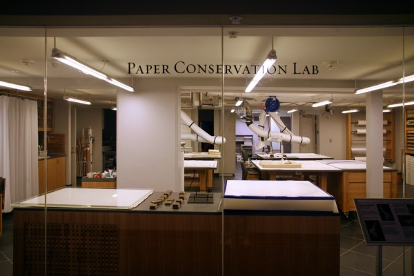 Setting Paper Conservation Lab Archivesalberta