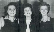 Betty Kensworth, Mary Hickey, May Marsberg