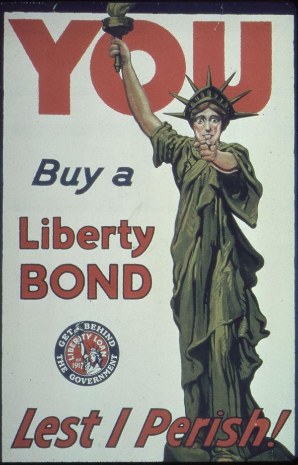 WW1 Propaganda Liberty Bonds