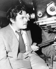 Orson Welles behind the camera Black & White photo