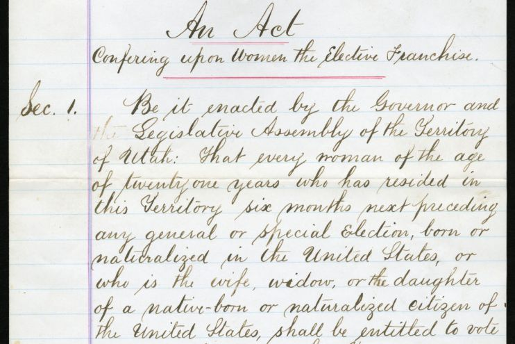 Clip of 1870 bill file