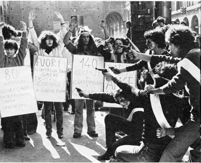 Fuori - Bologne, mars 1977
