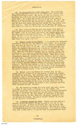 The Last Days in Hitler's Air Raid Shelter Interrogation Summary p9